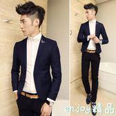 西裝外套 潮流韓版男士小西服男