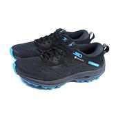 美津濃 Mizuno WAVE RIDER GTX 跑鞋 運動鞋 黑/藍 女鞋 JIGD217913 no137