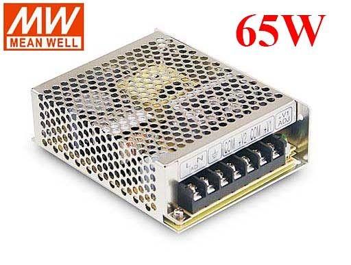 明緯MW 5V/8A 12V/4A 65W RD-65A 機殼型(Enclosed Type)交換式電源供應器