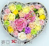 香皂花禮盒玫瑰肥皂花束