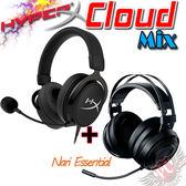 [ PC PARTY  ]   買A送B 金士頓 KINGSTON HyperX Cloud MIX 有線/藍芽 雙模+Nari Essential 影鮫 標準版