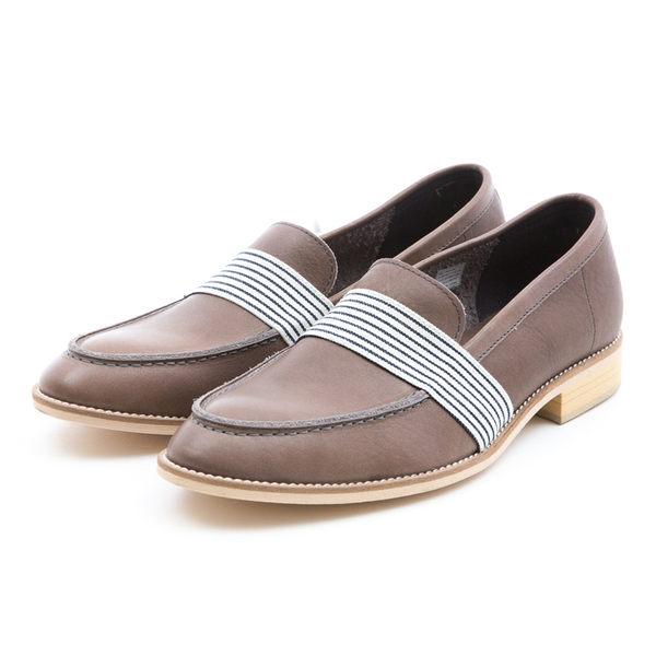 日本都會雅痞紳士樂福鞋#31111鐵灰 -ARGIS日本製手工皮鞋