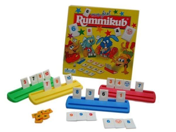 『高雄龐奇桌遊』 拉密兒童版 Rummikub My First ★正版桌上遊戲專賣店★