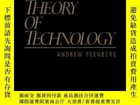 二手書博民逛書店Critical罕見Theory Of TechnologyY256260 Andrew Feenberg O