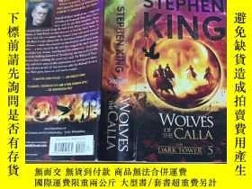 二手書博民逛書店The罕見Dark Tower V: Wolves of the