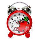 《一打就通》HELLO KITTY紅蘋果超靜音貪睡鬧鐘 JM-E470KT