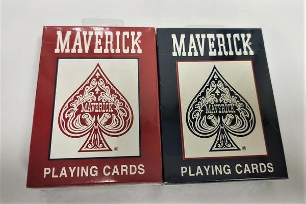 【USPCC撲克館】美國進口 MAVERICK 撲克牌 中國製