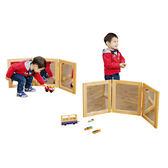 三面鏡 華森葳兒童幼兒教具設備家具道具鏡子自我觀察生活學習探索高級木製木質