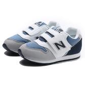 NEW BALANCE 休閒鞋 NB996 深藍 灰白 麂皮 黏帶 運動 小童(布魯克林) IZ996PNY