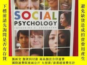 二手書博民逛書店Social罕見Psychology (大16開,硬精裝) 【詳