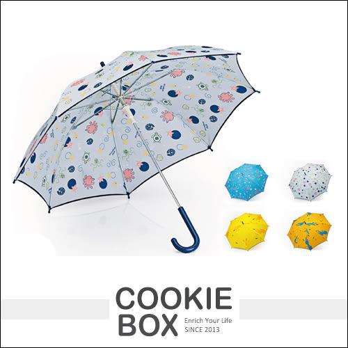 色彩繽紛 童趣 兒童傘 雨傘 直傘 自動傘 抗UV 防風 輕巧 幼童 小孩 可愛 動物 *餅乾盒子*