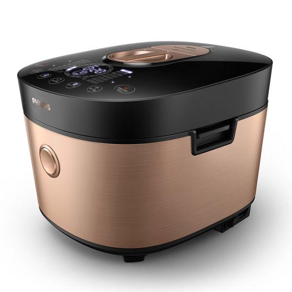 飛利浦PHILIPS-雙重脈衝智慧萬用鍋HD2195 贈黑晶爐HD4990+食譜+不鏽鋼鍋HD2779