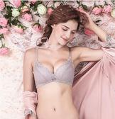 內衣女無鋼圈薄款性感蕾絲小胸聚攏上托胸罩調整型收副乳文胸 巴黎時尚