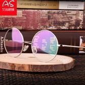 復古正圓形近視眼鏡架男款全框女款 哈利波特眼鏡框防輻射平光潮 全館免運