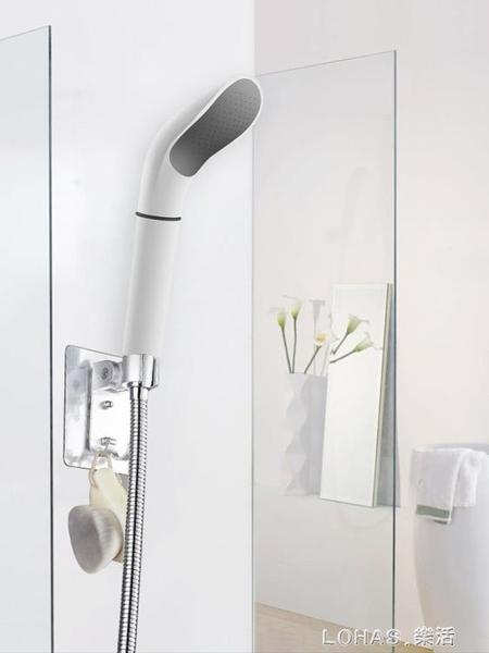 高增壓花灑可拆卸防堵白色手持噴頭花酒彎曲淋浴熱水器蓮蓬頭單頭 樂活生活館