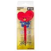 又敗家(現貨)日本限定ENSKY萬年筆鋼筆BT21正版吉祥物筆TATA防彈少年團BTS金泰亨V周邊商品#459352韓
