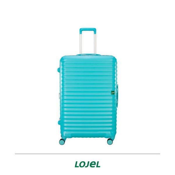 CROWN皇冠 LOJEL GROOEV第2代 硬殼鋁合金細框 行李箱/旅行箱30吋-蒂芬妮藍 CF1637
