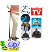 [106美國直購] 神奇防滑LED拐杖 Trusty Cane LED Folding Walking Triple Head Pivot Base Adjustable As Seen On TV