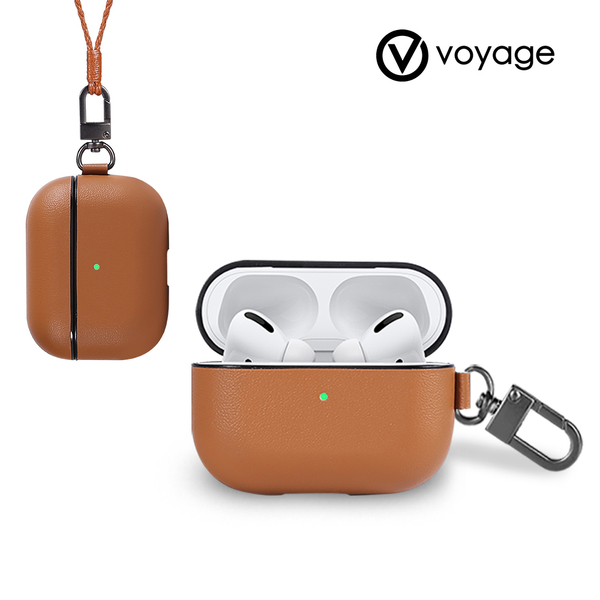新品【A Shop】VOYAGE AirPods Pro 專用 真皮防摔保護殼 For 2020全新 AirPods Pro