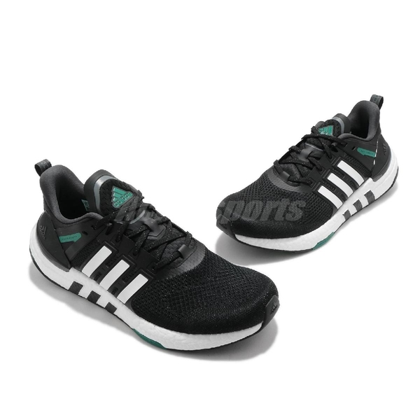 adidas 慢跑鞋 EQT Equipment Plus 黑 白 女鞋 Boost 緩震中底 運動鞋 【ACS】 H02759