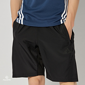 Adidas 3S PERF WV SHO 男 黑 運動 慢跑 短褲 FM2146