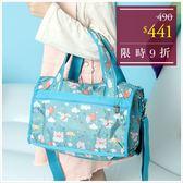 旅行袋-迪士尼乘夢飛翔小飛象輕旅系列小款旅行袋-單1款-A13130068-天藍小舖