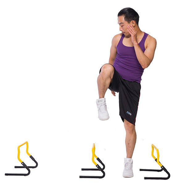 Fun Sport敏捷性訓練器材-速度跨欄(Adjustable hurdle)【屈臣氏】