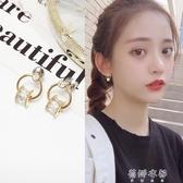 韓國迷你小巧耳釘女氣質個性百搭耳環閒約精緻小耳墜925純銀耳飾 歐韓流行館