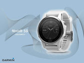 【時間道】GARMIN -預購- fenix® 5S 進階複合式戶外GPS腕錶-大理石白(010-01685-31)免運費