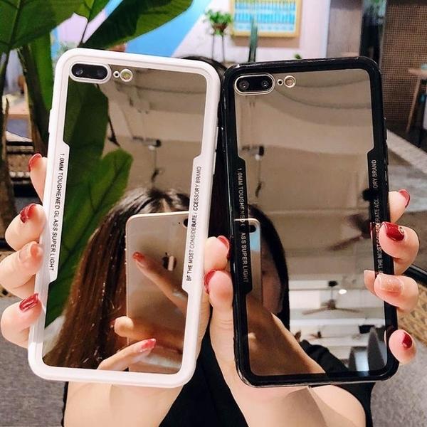 新品特價 網紅補妝鏡蘋果11手機殼iPhoneXR高檔6S新6潮8全包7plus防摔X軟套