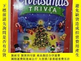 二手書博民逛書店Christmas罕見Trivia 聖誕節瑣事 節日故事書 聖誕