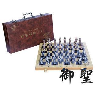 工藝國際象棋-小/大 鋅合金國際象棋
