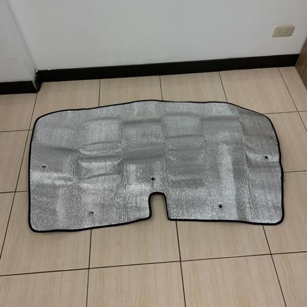 加厚汽車前擋風玻璃遮陽擋防曬隔熱板遮光板(134*78/@777-2604)