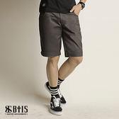 【BTIS】反摺短褲 / 鐵灰色