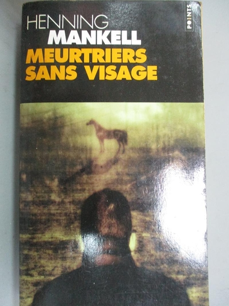 【書寶二手書T9/原文小說_IAB】Meurtriers Sans Visage_Mankell, Henning/ B