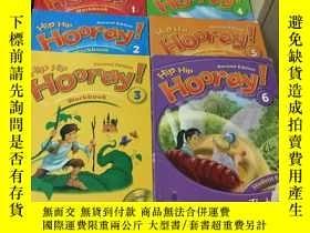 二手書博民逛書店Hip罕見Hip Hooray second Edition workbook 1、2、3、4、5、6(都帶光盤)