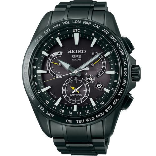 SEIKO ASTRON GPS 太陽能衛星電波腕錶 8X53-0AD0SD