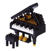 【日本 Kawada 河田】Nanoblock 迷你積木 黑鋼琴 NBC-146