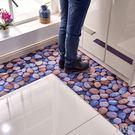 超薄地墊裁剪浴室防滑墊pvc橡膠防水地毯門墊腳墊廚房防水地毯 最後一天85折