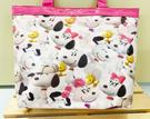 【震撼精品百貨】史奴比_Peanuts Snoopy ~SNOOPY 防水手提包/透明防水包-粉滿版#05700
