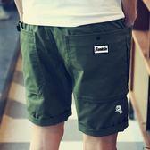 黑五好物節 男士短褲夏天休閒海灘褲夏季5分五分褲子男生寬鬆潮流大褲衩7七分