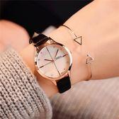 手錶女學生韓版簡約潮流ulzzang 復古休閒小清新文藝森女錶石英錶 法布蕾輕時尚
