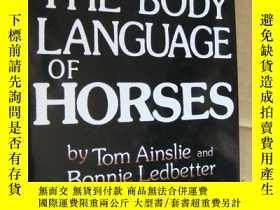 二手書博民逛書店The罕見Body Language of Horses 馬的肢體語言 英文原版 精裝16開+書衣 近新Y14