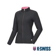 K-SWISS HS Jersey Jacket韓版運動外套-女-黑