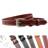 腰鏈皮帶 簡約 針釦 真皮 腰帶 車線 裝飾 皮帶