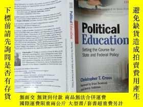 二手書博民逛書店Political罕見Education--setting th