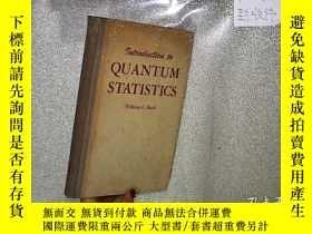 二手書博民逛書店QUANTUM罕見STATISTICS 量子統計 32開Y261