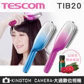 TESCOM  TIB20 TIB20TW 超音波震動負離子梳  山茶花精油 群光公司貨