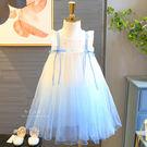 夢幻漸層公主紗裙洋裝 童裝 連身裙 裙子 連衣裙
