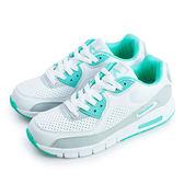 LIKA夢 DIADORA 經典復古慢跑鞋 classic 系列 白綠灰 2885 女